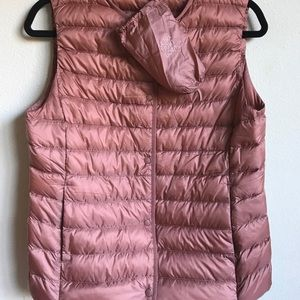 Rose Gold Down Vest